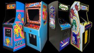 classic arcade machines