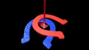 giant horseshoes game