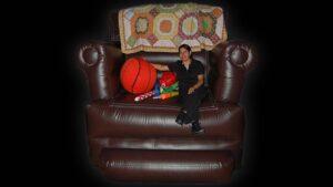 big chair inflatable photos