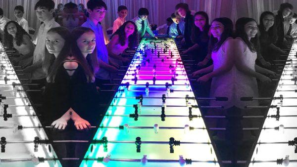 16 Player LED Foosball