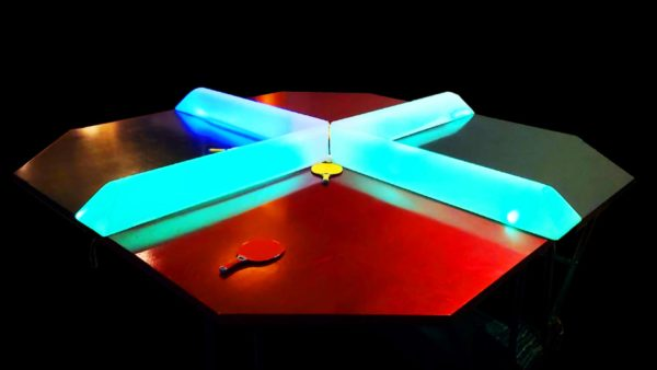 4 Player Ping Pong With Optional LED Upgrade