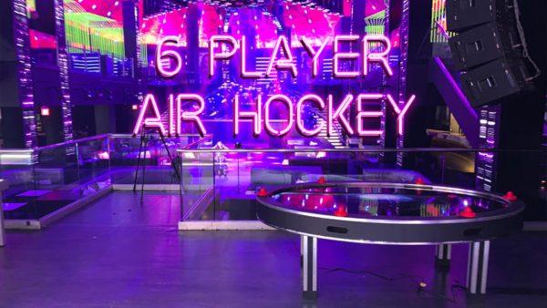 6 PLAYER AIR HOCKEY