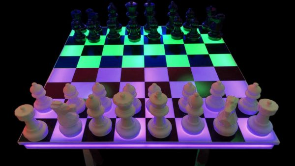 Giant LED Chess