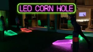 LED Corn Hole