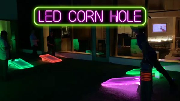 LED Corn Hole