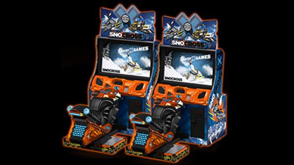 SnoCross Snowmobile Racing Arcade Game