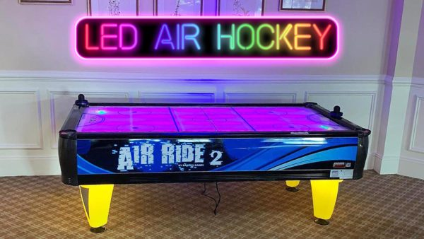LED Air Hockey