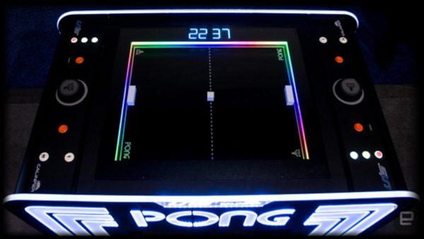 Atari LED Pong Arcade