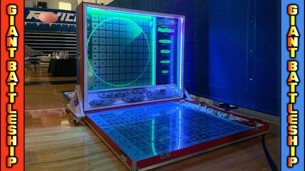 Giant Life-Size Battleship Game