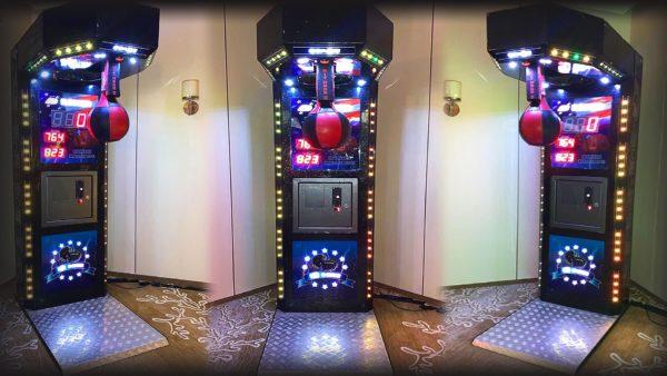 Boxer Punching Arcade Machine