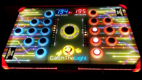 Catch The Light LED Reflex Game
