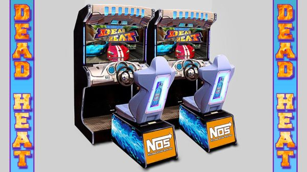 Dead Heat Racing Arcade Game