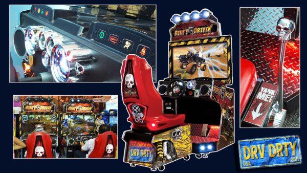 Dirty Driving' Racing Arcade Game