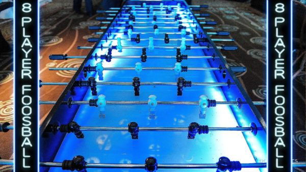 8 player LED Foosball