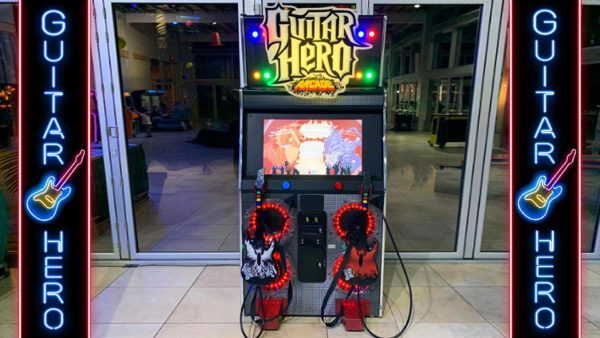 Guitar Hero Arcade Machine