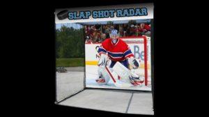 Hockey Slapshot Radar Cage
