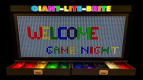 Giant Lite Brite