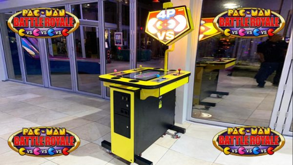 4-Player Pac-Man Battle Arcade Game