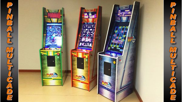 Classic Arcade and Pinball Multicade Machine