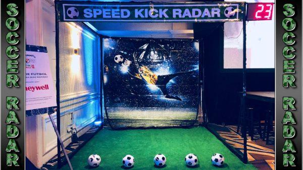 Soccer Kick Radar Cage