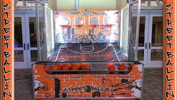 4-Player Arcade Basketball