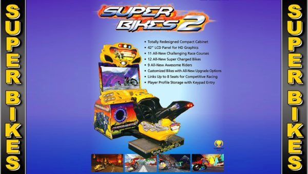 Superbikes Motorcycle Racing Arcade Game