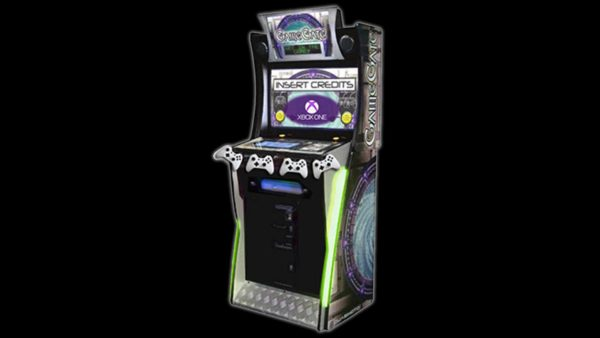 Xbox One Arcade Cabinet with LED lights