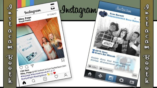 instagram photo booth in orlando, florida