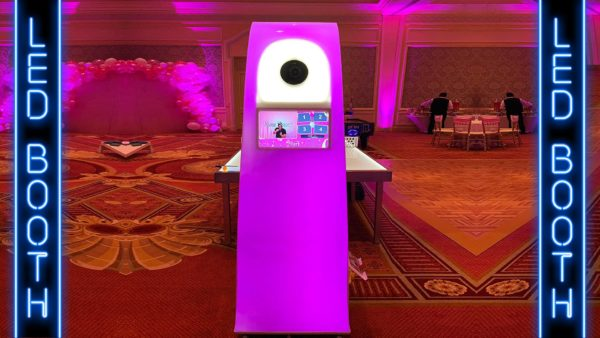 LED Photo Booth rental in orlando