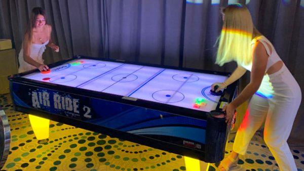 LED Air Hockey in Orlando, Florida