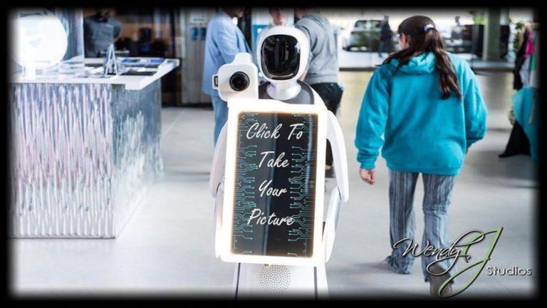 robot photo booth in orlando
