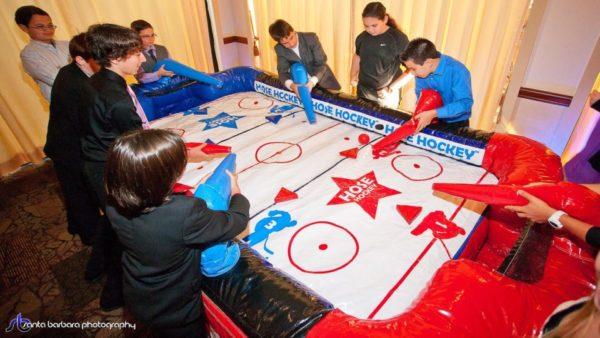 hose hockey game rental