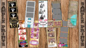 sample photo booth print designs