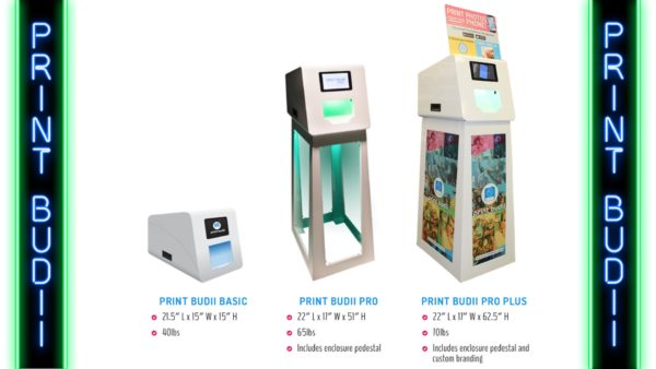 Print Budii photo booth from your phone in Orlando, Florida