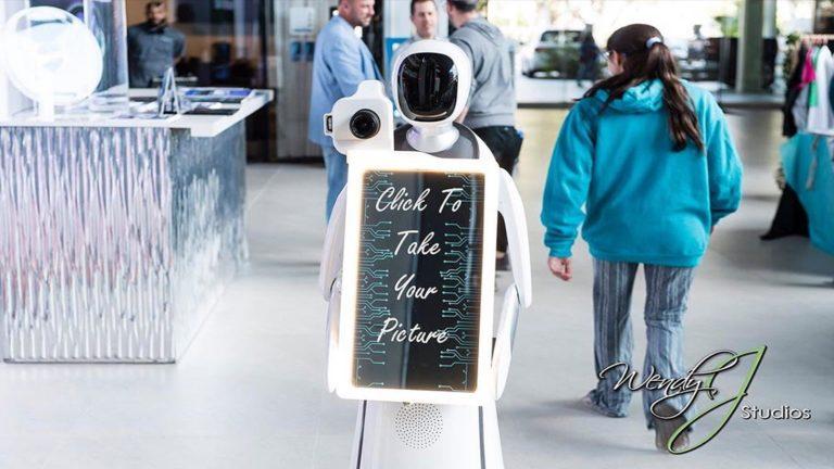 robot photo booth orlando