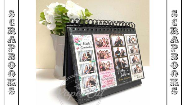 photo booth scrapbook