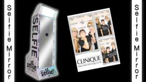selfie mirror photo booth rental in orlando, florida