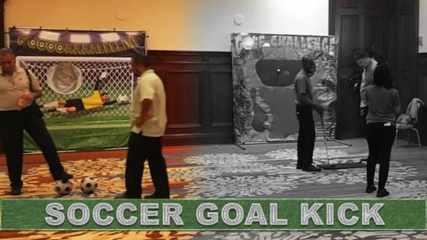 soccer futbol kicking game in orlando florida