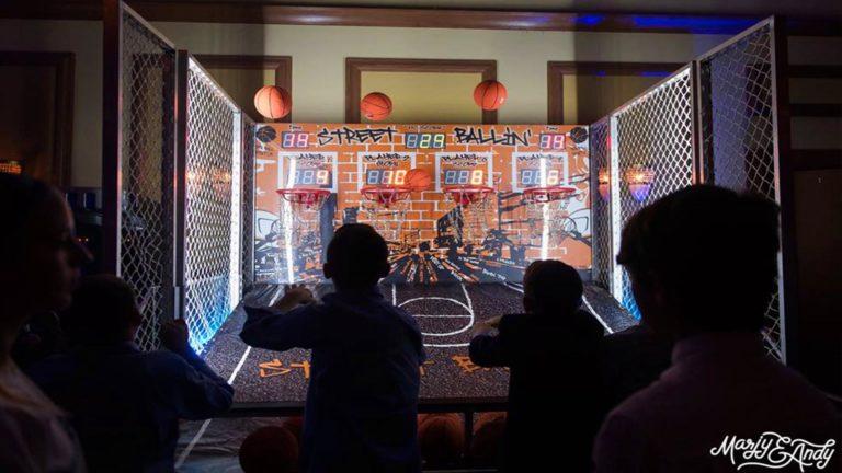 orlando arcade basketball game in Orlando