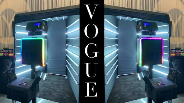 Vogue Photo Booth for Rent in Orlando, Florida