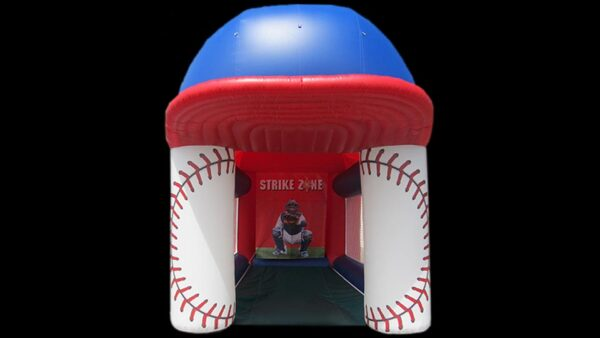 baseball speed radar inflatable game