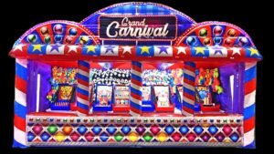 inflatable carnival booth
