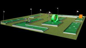 miniature golf game rental
