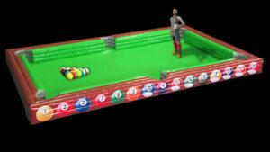 soccer billiards snookball