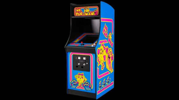 ms pacman arcade game rental