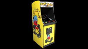 pacman arcade game rental