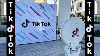 Tik Tok Photo Booth in Orlando, Florida